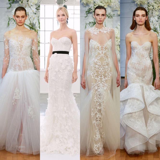 Spring 2018 Bridal Fashions