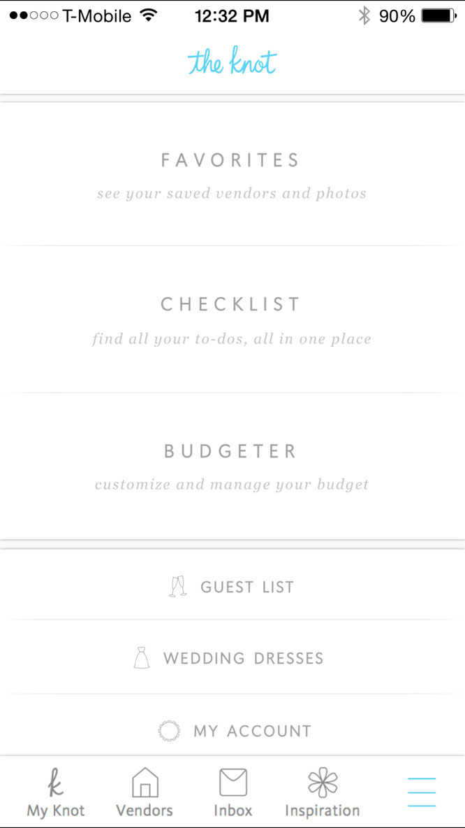 Wedding App The Knot