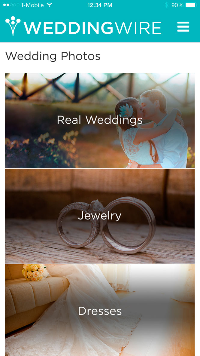 Wedding App Wedding Wire