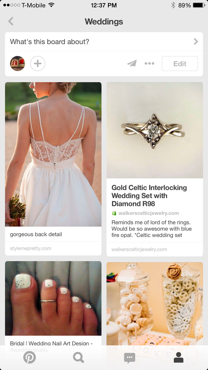 Wedding Apps Pinterest