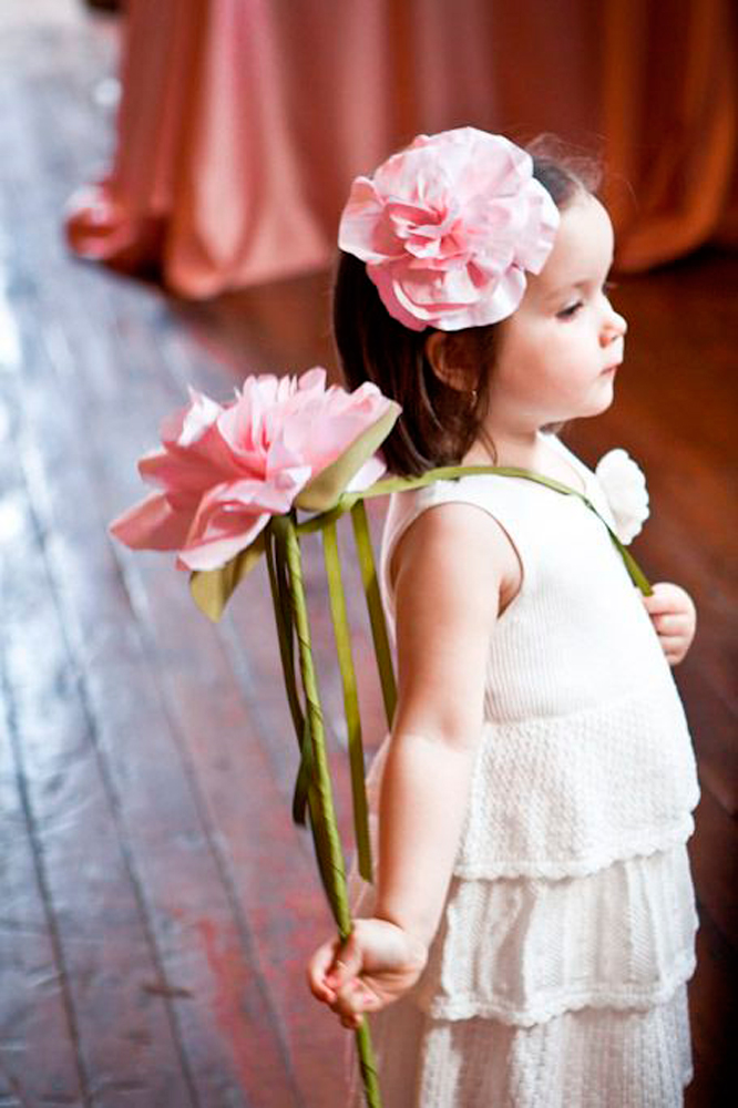 Single Stem flower for your flower girl