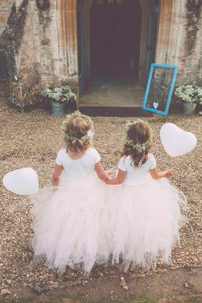 Balloons for flower girls