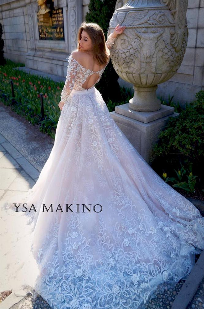 Top Bridal Gowns for Fall and Winter 2018